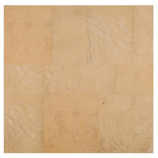 """View a Larger Image of White Ash 24"""" x 24"""" 2ply Wood on Wood Patchwork Wood Veneer"""