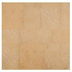 """White Ash 24"""" x 24"""" 2ply Wood on Wood Patchwork Wood Veneer"""