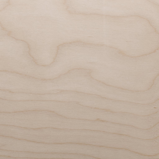 View a Larger Image of White Birch Veneer Sheet Rotary Cut Spliced 4' x 8' 2-Ply Wood on Wood