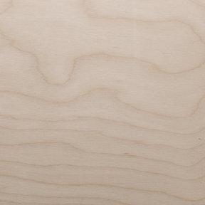 White Birch Veneer Sheet Rotary Cut Spliced 4' x 8' 2-Ply Wood on Wood