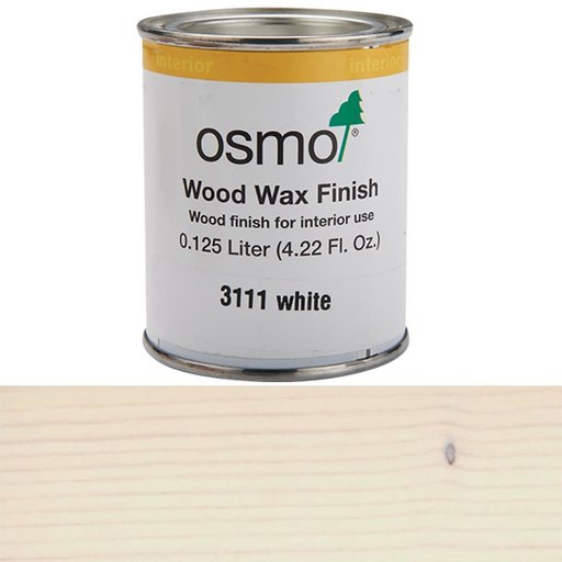 View a Larger Image of White Wood Wax 3111Solvent Based .125 l