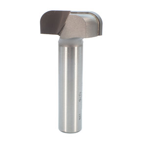 """1376 Bowl And Tray Router Bit 1/4"""" R 1-1/4"""" OD x 1/2"""" CL 2-1/8"""" OL 1/2"""" SH"""