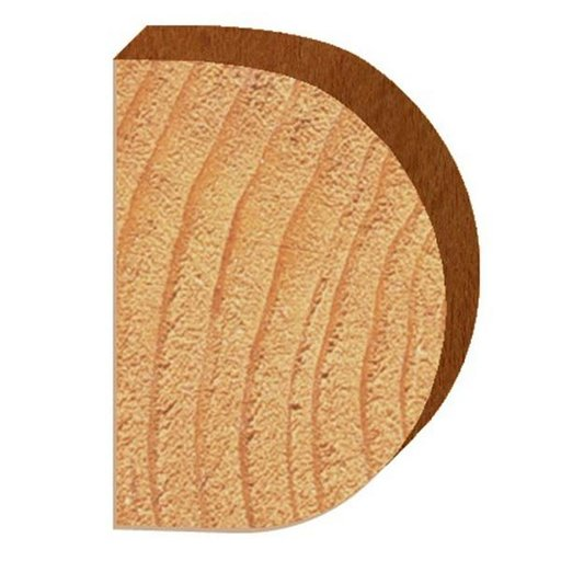 """View a Larger Image of 1435 Half Round (Bull Nose) Router Bit 1/2"""" SH 5/8"""" R X 1-1/4"""" Co X 1-3/4"""" CL 2-3/16"""" D"""