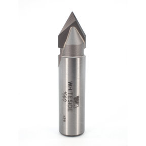 """1560 V Groove Router Bit 60 Included Angle 1/2"""" SH 1/2"""" D X 7/16"""" P X 2-1/4"""" OL"""