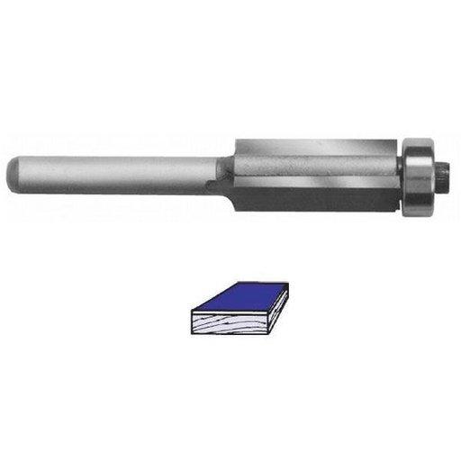 """View a Larger Image of 2504 Three Flute Flush Trim Router Bit 1/2"""" SH 1/2"""" D x 1-1/2"""" CL 3-5/8"""" OL"""
