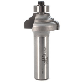 """3211 Cove And Bead Router Bit 1/2"""" SH 5/32"""" R 1-1/8"""" D X 1/2"""" CL X 2-1/4"""" OL"""