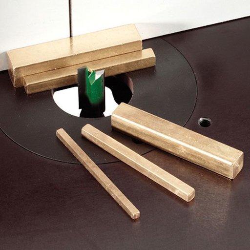 "View a Larger Image of 5 Piece Brass Set-up Gauges, 2-1/2"""