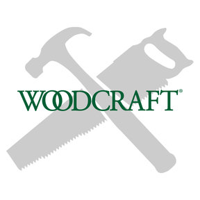 """6000B 3-Wing Large Raised Panel Router Bit 3-3/8"""" D, Straight"""