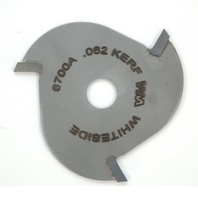 """6700A 3-Wing (1/16"""") Slotting Cutter Router Bit .062"""""""