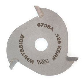 """6705A 3-Wing (1/8"""") Slotting Cutter Router Bit .125"""""""