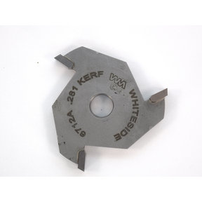 """6712A 3-Wing (9/32"""") Slotting Cutter Router Bit .281"""""""