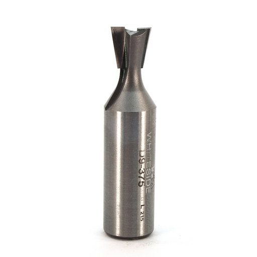 """View a Larger Image of D9-375 Dovetail Router Bit 9 Degree 1/2"""" SH 3/8"""" D x 3/8"""" C x 2"""" OL"""