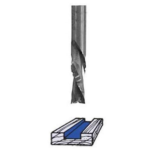 "View a Larger Image of RU5150CB Chipbreaker Up Cut Router Bit 1/2"" D X 1-1/2"" CL 1/2"" SH 3-1/2"" OL"