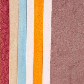 "Dyed Wood Veneer - 4-1/2"" to 6-1/2"" Width - Wild Color - 3 Square Foot Pack"