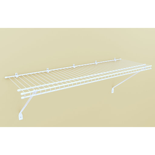 """View a Larger Image of Wire Shelf Kit 36"""" W x 12"""" D,  White"""