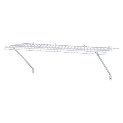 """View a Larger Image of Wire Shelf Kit 72"""" W x 16"""" D, White"""