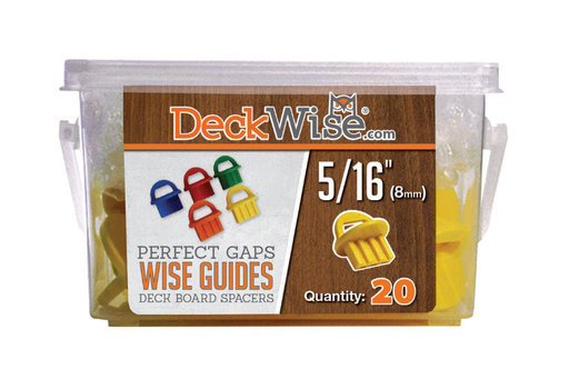 View a Larger Image of WiseGuides Decking Board Gap Spacers, 5/16 in., 20 pieces