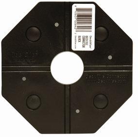 WiseTile Deck Tile Connector, Shadowline Black, 1 Connector