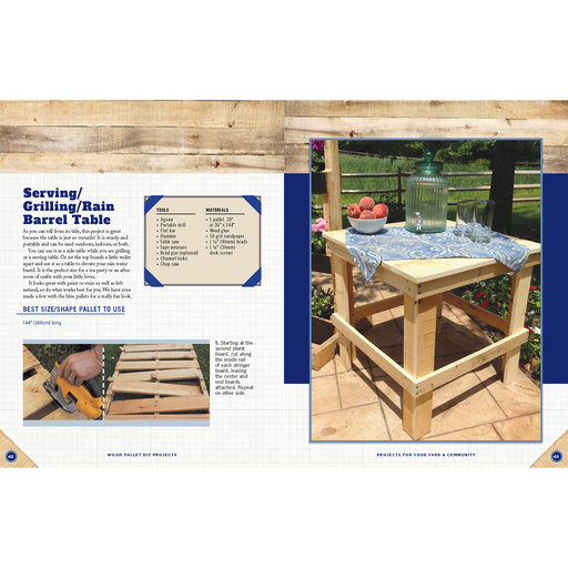 View a Larger Image of Wood Pallet DIY Projects