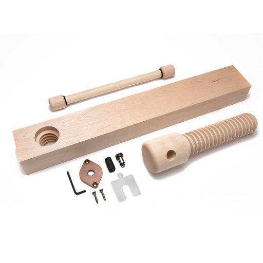 View a Larger Image of Wood Shoulder Vise Screw - Standard Kit (Vintage Finish)