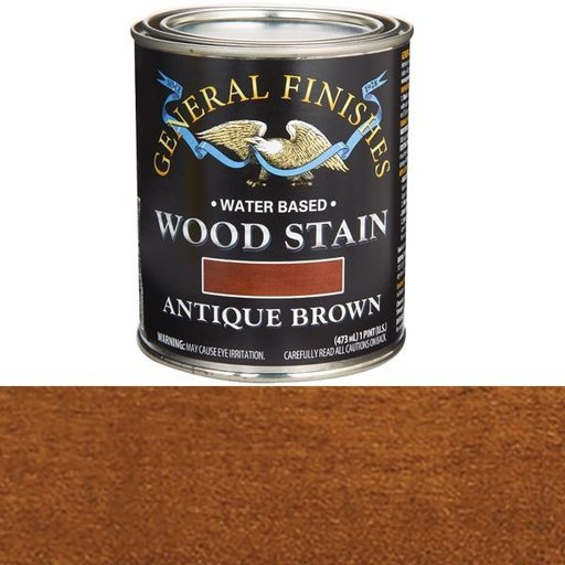View a Larger Image of Antique Brown Stain Water Based Pint