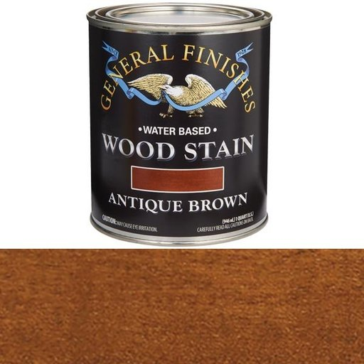 View a Larger Image of Antique Brown Stain Water Based Quart