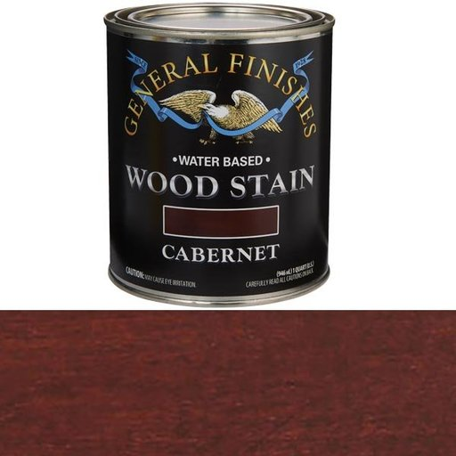 View a Larger Image of Cabernet Stain Water Based Quart