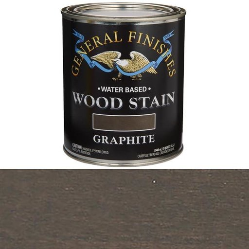 View a Larger Image of Graphite  Stain Water Based Quart