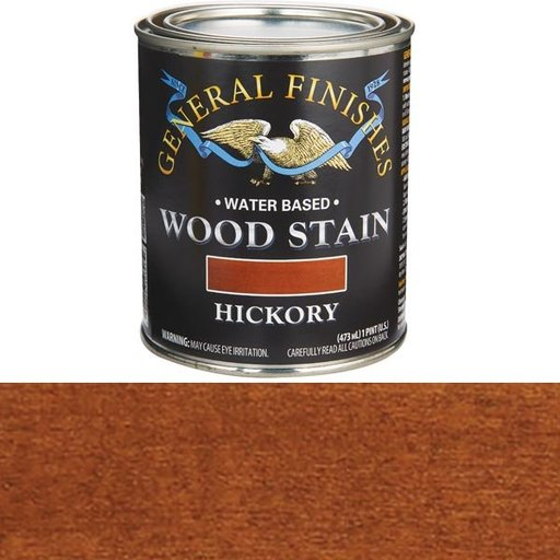 View a Larger Image of Hickory Stain Water Based Pint