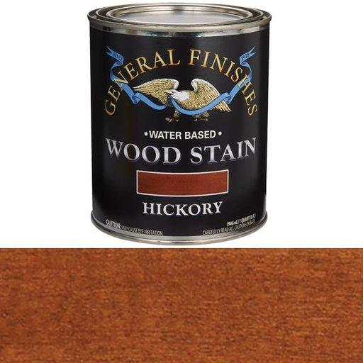 View a Larger Image of Hickory Stain Water Based Quart
