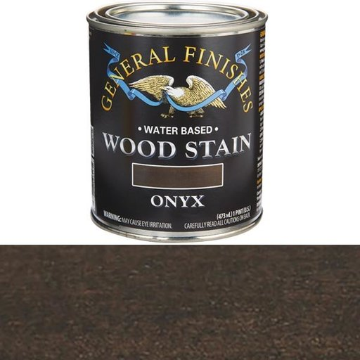 View a Larger Image of Onyx  Stain Water Based Pint