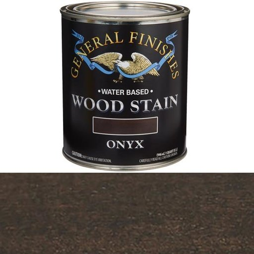 View a Larger Image of Onyx  Stain Water Based Quart
