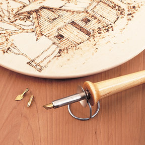 Hobbyist Woodburning Pen L23WBK