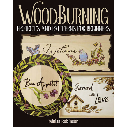 View a Larger Image of Woodburning Projects and Patterns for Beginners
