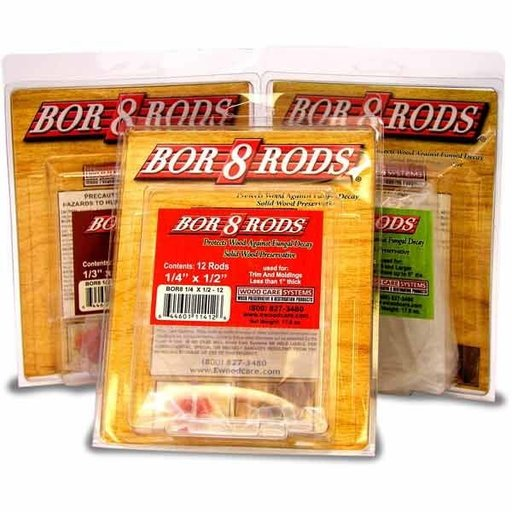 """View a Larger Image of Bor-8-Rods, 3/4"""" x 3"""", Box of 100"""