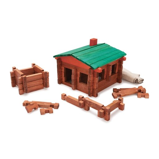View a Larger Image of Log Cabin Playset