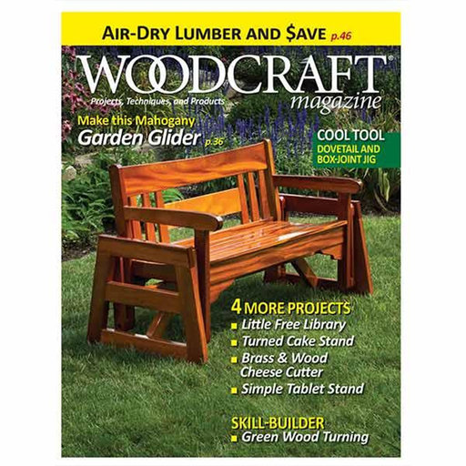 View a Larger Image of Woodcraft Mazine Issue 64: April / May 2015