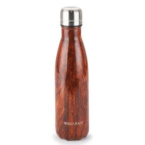 Woodgrain 17-ounce Water Bottle