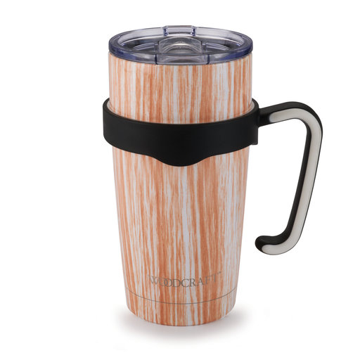 View a Larger Image of Woodgrain 20-ounce Tumbler
