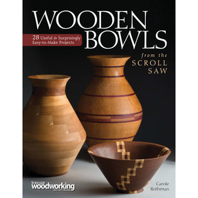 Wooden Bowls from Scroll Saw