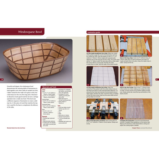 View a Larger Image of Wooden Bowls from Scroll Saw