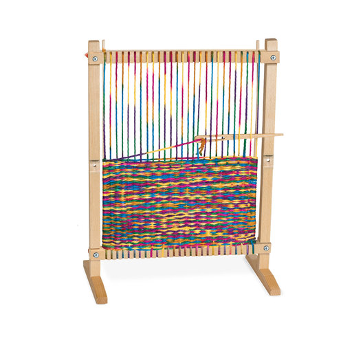 """View a Larger Image of Wooden Multi-Craft Weaving Loom, Arts & Crafts, Extra-Large Frame, Develops Creativity and Motor Skills, 16.5"""" H x 22.75"""