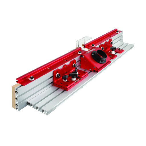 """View a Larger Image of 36"""" SuperFence Router Table Fence With Single Offset"""