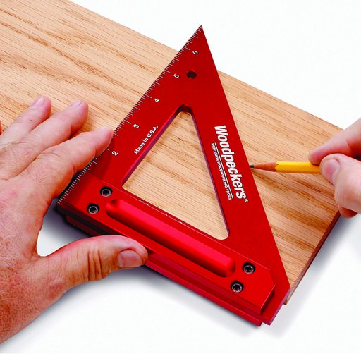 """View a Larger Image of 6"""" Carpenters Square with Inch Graduations"""