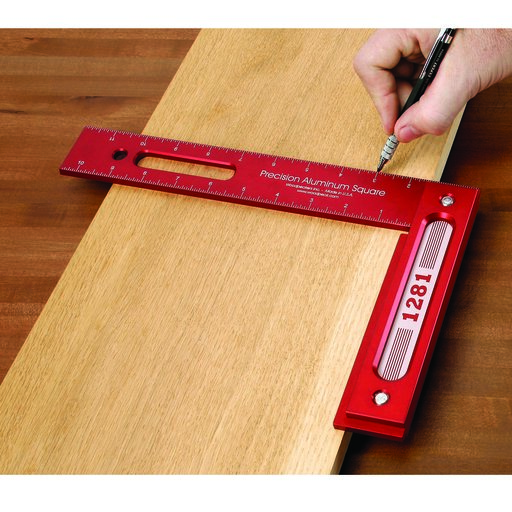 View a Larger Image of Precision Woodworking Square 12in x 8in