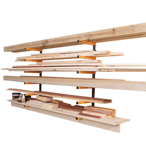 View a Larger Image of WoodRack Storage System