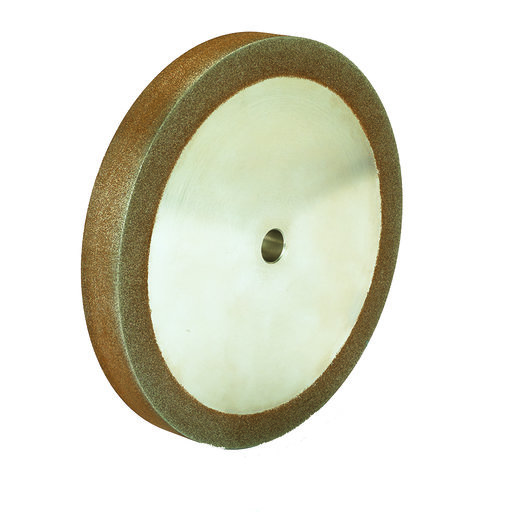 """View a Larger Image of 120g 8"""" x 1"""" CBN Grinding Wheel with 5/8"""" Arbor"""