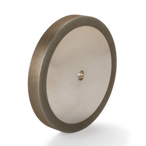 """180-Grit CBN Grinding Wheel, 8""""x 1"""" for Grinders with a 5/8"""" Arbor"""