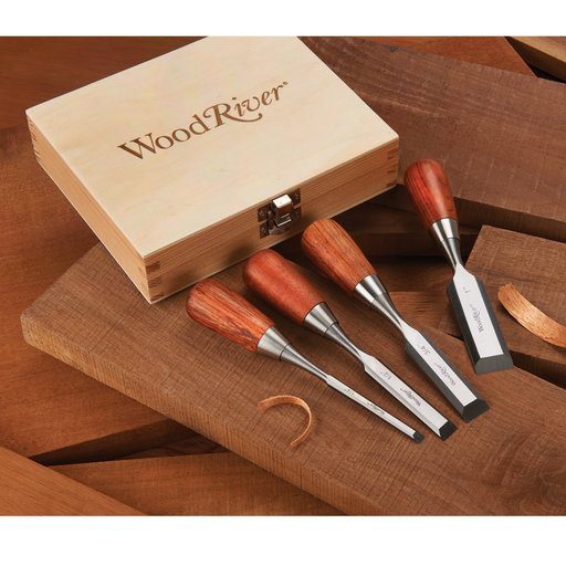 View a Larger Image of Butt Chisel Set - 4 Piece