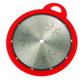 """Blade Keep 10"""" Silicone Saw Blade Cover, Red"""